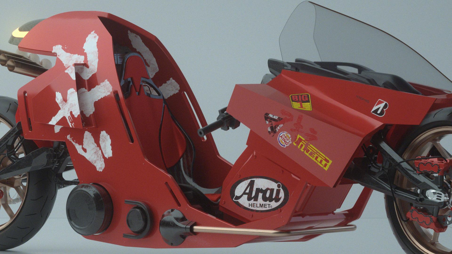 Akira Concept Bike